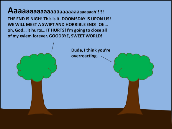 TreeOverreacting
